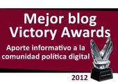 Mejor blog Victory Awards. Consultoría política